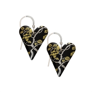 Picture of Willow Medium Heart Earrings