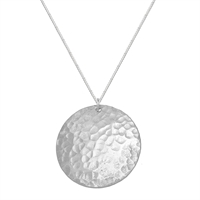Picture of Eco Aluminium Hammered Disc Necklace