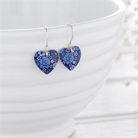 Picture of Forget-Me-Not Heart Earrings