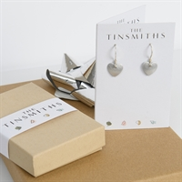 Picture of Eco Aluminium Small Heart Earrings