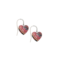 Picture of Tiger Lily Small Heart Earrings