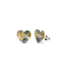 Picture of Orla Heart Studs