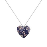 Picture of Jasmine Round Heart Necklace