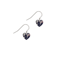 Picture of Jasmine Small Heart Earrings