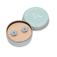 Picture of Pale Blue Daisy Studs