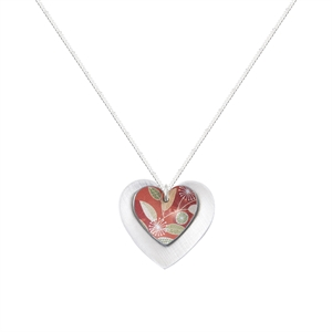 Picture of Coral Double Heart Pendant