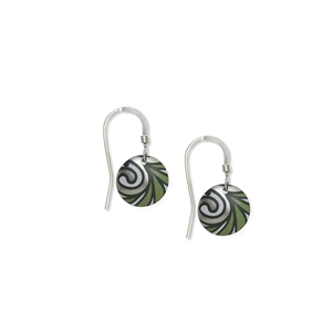 Picture of Nova Green Small Round Earrings