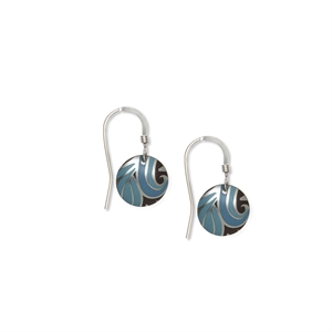 Picture of Nova Turquoise Small Round Earrings