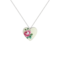 Picture of Rosie Pink Heart Necklace