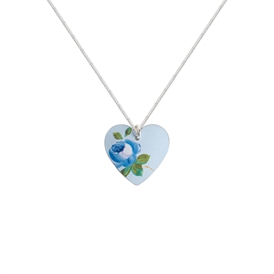 Picture of Rosie Blue Heart Necklace