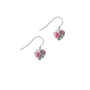 Picture of Daphne Floral Small Heart Earrings