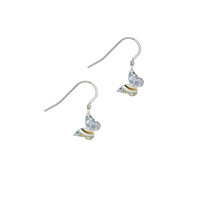 Picture of Tiny Daphne Pattern Butterfly Earrings