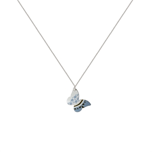 Picture of Daphne Pattern Butterfly Necklace